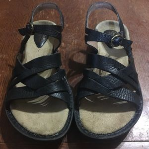 Clarks Artisan Collection Braided Leather Sandals